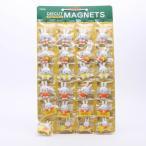 マグネット ミッフィー ダイカットマグネット台紙セット24ケ付 12種類 miffy/SET955 プラスチック製 キャラクター型 マグネット フック クリップ 磁石