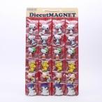 マグネット スヌーピー マグネットダイカット台紙セット24ケ付 12種類 SNOOPY/SET948 プラスチック製 キャラクター型 マグネット フック クリップ 磁石