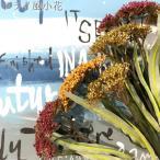 フェイクグリーン ドライ風小花 イエロー/グリーン 壁飾り 観葉植物 ウォールデコレーション 緑 壁掛け インテリア イミテーショングリーン いなざう