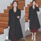コート レディース 40代 50代 フォーマル ファッション 女性 上品 黒 ベージュ ロング丈 ロングコート トレンチコート