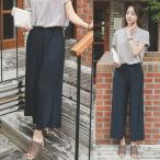 オフィスカジュアル パンツ レディース ワイドパンツ プリーツ 30代 40代 50代 ファッション 大人 かわいい 服