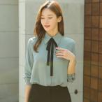 ショッピングブラウス ブラウス レディース 無地 7分袖 きれいめ シャツ 30代 40代 50代 ファッション 女性 高級感 上品 秋