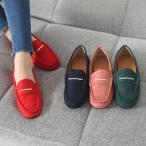 ショッピングフラット フラットシューズ レディース ペタンコ スエード調 2017 秋 ファッション 靴 婦人靴