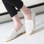 ショッピングフラット フラットシューズ レディース ペタンコ シンプル メッシュ 2017 春 ファッション 靴 婦人靴