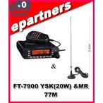 FT-7900YSK(FT7900YSK) &MR77M セパレートキット標準装備 YAESU 八重洲無線