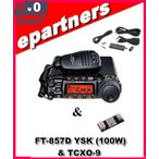 FT-857D YSK(FT857D YSK) 100W & TXO-9  YAESU 八重洲無線 (HF/50/144/430MHz)