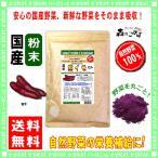 国産 紫イモ 粉末 業務用 500g 紫芋 やさい パウダー 100% 送料無料 森のこかげ 野菜粉末 紫いも ☆アカルイ☆ミライ放送で大注目 紫いも
