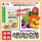 マルチ野菜サプリメント ベジタミンサプリ 250mg×180粒 国産 の自然お野菜で今日も健康毎日6粒お手軽な野菜生活 送料無料 森のこかげ