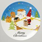 クリスマス景品 サンタのケーキ皿 10枚セット
