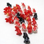 すくい用おもちゃ フィギア金魚 100ヶセット