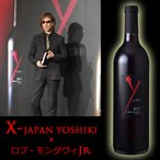 ワイン 赤 ワイ バイ ヨシキ カベルネ ソーヴィニヨン カリフォルニア 2017 X JAPAN YOSHIKI wine画像