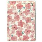 《月間》2020手帳 クツワ 家族手帳 B6 薄型 日曜始まり フラワー・ピンク SH988A