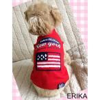 春新作・かわいい犬服・NEW YORKプリントカラーTシャツ