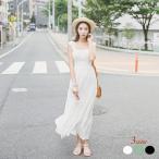 乙女 シフォン 定番 無地 ワンピース リゾート レディース マキシ丈 3700050510