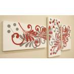 バリ絵画 3連複合 ドットアート 05 アートパネル 3枚 モダン 絵画 壁掛け アート アジアン 北欧 ファブリックパネル バリ インテリア