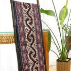 イカット 05 アジアン 布 壁掛け マルチカバー テーブルランナー タペストリー 手織り 生地 バリ アンティーク おしゃれ 和風