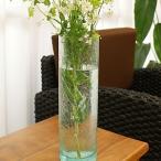 バリガラス フラワーベース クラック ラウンド Lサイズ 花瓶 ガラス フラワーベース おしゃれ 丸型 大型 大きい シンプル アジアン 雑貨 バリ