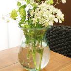 バリガラス フラワーベース A 花瓶 ガラス フラワーベース おしゃれ 丸 大型 シンプル 北欧 アジアン 雑貨 バリ