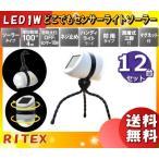 ライテックス ASL-093 LEDどこでもセンサーライトソーラー 防雨タイプ ASL093 「送料無料」 「12個まとめ買い」