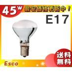 Esco  KR100/110V45WR50  ミニクリプトン電球  Rタイプ  50形  E17口金 10%節電設計  「定格寿命:2,000時間」「25」「JS」「送料区分A」
