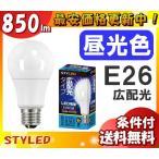 Yahoo!イーラインSTYLED LDA9D(850lm)相当(LLDA9D1) LLDA9D2 LED電球 一般電球タイプ 60W相当 昼光色 広配光 口金E26 「新商品」「送料区分B」