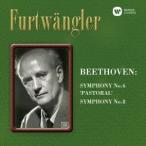 ヴィルヘルム・フルトヴェングラー/ベートーヴェン:交響曲第6番「田園」&第8番 【CD】