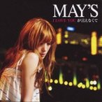 MAY'S/I LOVE YOUが言えなくて 【CD】