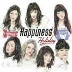 Happiness/Holiday 【CD+DVD】