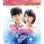 あなたが眠っている間に BOX1 <コンプリート・シンプルDVD-BOX> (期間限定) 【DVD】