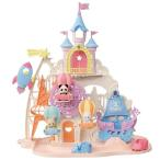 シルバニアファミリー コ-66 お城のゆめいろゆうえんちおもちゃ こども 子供 女の子 人形遊び 3歳