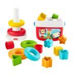 フィッシャープライス はじめてのブロック(エコ)&ゆらりんタワー(エコ)おもちゃ こども 子供 知育 勉強 ベビー 0歳6ヶ月