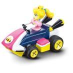 ミニマリオカートRCピーチ姫おもちゃ こども 子供 男の子 ミニカー 車 くるま 6歳 スーパーマリオブラザーズ