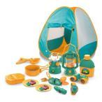 キャンプセットおもちゃ こども 子供 女の子 ままごと ごっこ 3歳