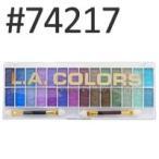 LA COLORS 28カラーアイシャドウ パレット #74217 28g LAカラーズ、日本ランウエル