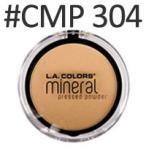 ショッピングcolors LA COLORS ミネラルプレストパウダー #CMP304 7.5g LAカラーズ、日本ランウエル