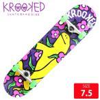 KROOKED クールーキッド コンプリート SHMOO VIBES SM DECK 7.5 インチ KKC-021 完成品 組立て済 スケートボード スケボー