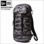NEW ERA  newera ニューエラ リュック バックパック ラックサック RUCKSACK  900D TSC OLIVE BLK バッグ カバン