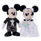 Yahoo!エスプラネード本店ディズニー ブライダル ぬいぐるみ ミッキーマウス&ミニーマウス ドレス