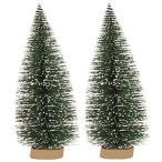 Milio デスクトップ小さなクリスマスツリー デスクトップウィンドウの装飾 クリスマスミニクリスマスツリー ミニクリスマスツリー クリスマ