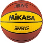 MIKASA(ミカサ) バスケットボール 検定球5号 ミニバスケットボール 人工皮革 12枚パネルデザイン ディンプル BZD512 バスケットボール 5号 小学生 ミニバス