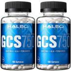 ハレオ(HALEO) GCS750 198カプセル 2個セット カーボローディング/ダイエット