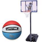 ライフタイム(LIFE TIME) バスケットゴール LT-71546 5号ボールセット バスケットボール バックボード ストバス 部活 新入部