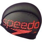 スピード(speedo) メッシュキャップ SD92C11 SR Sレッド スイムキャップ 水泳帽