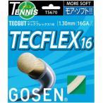 ゴーセン(GOSEN) テックガット テックフレックス16 パールホワイト(TECGUT TECFLEX16) TS670PW 硬式テニス