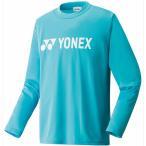 ヨネックス(YONEX) ロングスリーブTシャツ オーシャンブルー 16158 489 テニスウェア バドミントンウェア 長袖シャツ メンズ レディース
