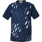ゴーセン(GOSEN) ゲームシャツ ネイビー T1514 17 テニス バドミントン ウェア メンズ レディース