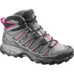 サロモン(SALOMON) X ウルトラ ミッド 2 ゴアテックス ウィメンズ(X ULTRA MID 2 GTXR W) DETROIT/AUTOBAHN/HOTPINK L37147700 靴 シューズ 登山 レディース