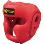 マーシャルワールドジャパン HG50-RD プロ仕様スパーリングヘッドガード 一般用 赤