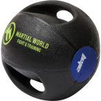 MARTIAL WORLD(マーシャルワールド)『メディシンボール ダブルグリップタイプ 3kg』