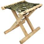 ランバージャックスチェア(LUMBER JACKS CHAIR) アウトドア ランバージャックスチェア オリーブ LUM-CH OL キャンプ バーベキュー イス 椅子 自然木 折り畳み